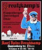 Kreutzkamp`s Cappenberger Zwetschgen Likör