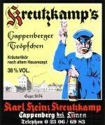 Kreutzkamp`s Cappenberger Tröpfchen